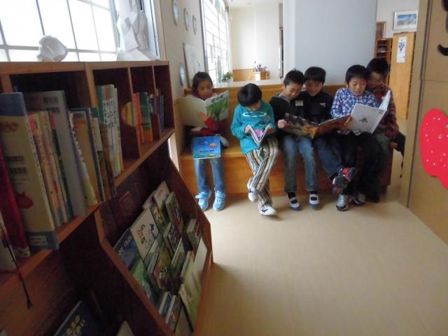 活用風景② ミニ図書館